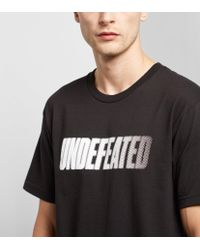 Undefeated | Black Speed Tone T-shirt for Men | Lyst