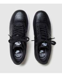 Nike - Black Air Force 1 Upstep Women's - Lyst