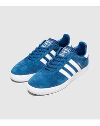 32b0e6ca23ce1 Lyst - adidas Originals 350 Suede in Blue for Men