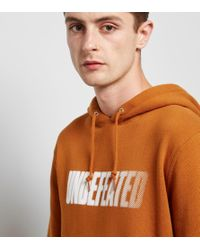 Undefeated - Orange Speed Tone Hoody for Men - Lyst