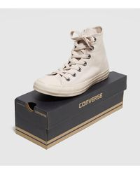 Converse | Natural All Star Hi Mono Women's | Lyst