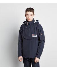 8b553658239ea Fila Alps Jacket in Blue for Men - Lyst