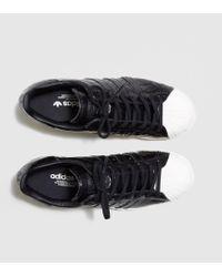 Adidas Originals - Black Superstar 80s Women's - Lyst