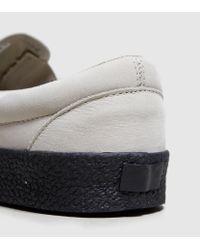 Vans - Gray Slip-on for Men - Lyst