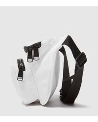 Fred Perry White Global Hip Bag