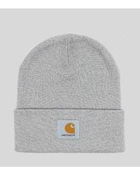 Carhartt WIP Watch Beanie Hat in Gray for Men - Lyst e46e122b4c2a