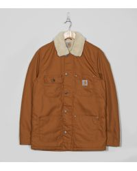 Carhartt WIP | Brown Phoenix Coat for Men | Lyst
