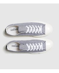 Converse - Blue Chuck Taylor 70 Striped Chambray - Lyst