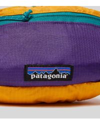 Patagonia - Purple P-6 Mini Waist Pack for Men - Lyst