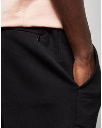 size? - Black ? Essentials Fleece Shorts for Men - Lyst