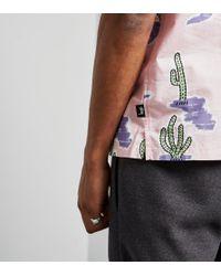 Stussy - Pink Cactus Short-sleeved Shirt for Men - Lyst