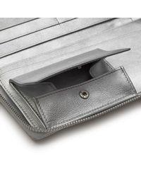 Comme des Garçons - Metallic Gold Line Wallet L - Lyst