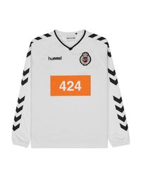 Hummel - White 424 X Long Sleeve Jersey Top for Men - Lyst