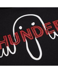 THUNDERS - Kilroy X Hooded Sweatshirt Black for Men - Lyst
