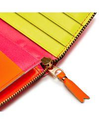 Comme des Garçons - Multicolor Super Fluo Wallet L - Lyst