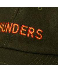 THUNDERS - Green Cap for Men - Lyst