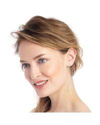 Sole Society - Metallic Dainty Geo Duster Earring - Lyst