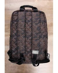 South Moon Under - Gray Diamond Quilt Camo Print Backpack for Men - Lyst