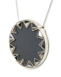 House of Harlow 1960 | Metallic Sunburst Pyramid Pendant Necklace | Lyst