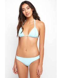 South Moon Under - La Cabana Blue Strappy Triangle - Lyst