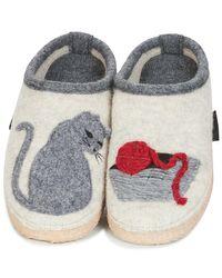 Giesswein - Natural Nempitz Women's Slippers In Beige - Lyst