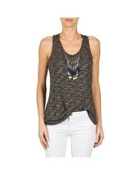 See U Soon - Gray Lorrimers Women's Vest Top In Grey - Lyst