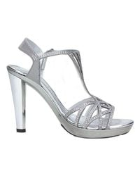 Brigitte Bardot | Metallic 46546 Sandals Women's Sandals In Silver | Lyst