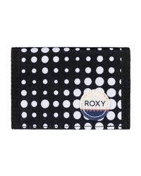 Roxy - Small Beach - Monedero Women's Purse In Black - Lyst