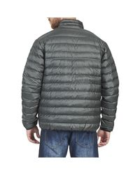 Patagonia - Gray Down Snapt Pullover Men's Jacket In Grey for Men - Lyst
