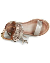 Airstep / A.S.98 - Natural Noa Women's Sandals In Beige - Lyst