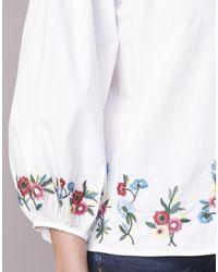 Moony Mood - Ifiti Women's Blouse In White - Lyst