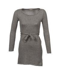 Moony Mood - Gray Blake Women's Dress In Grey - Lyst
