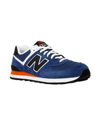 New Balance - Ml574moy Men's Shoes (trainers) In Orange for Men - Lyst