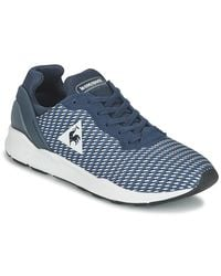 Le Coq Sportif | Lcs R Xvi Geo Jacquard Men's Shoes (trainers) In Blue for Men | Lyst
