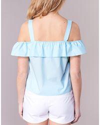 Moony Mood - Ifarandol Women's Blouse In Blue - Lyst