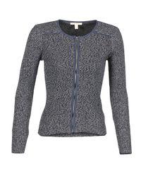 Esprit - Roma Nita Women's Cardigans In Blue - Lyst
