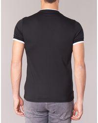 Armani Jeans - Pratoli Men's T Shirt In Black for Men - Lyst