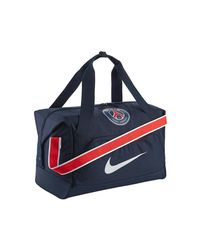 Nike - Blue Allegiance Psg Shield Compact Men's Sports Bag In Multicolour for Men - Lyst