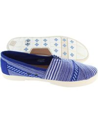 TOMS - Avalon Sneaker Women's Loafers / Casual Shoes In Blue - Lyst