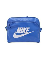 c3d727f0fd83 Nike Heritage Si Track Men s Bag In Blue in Blue for Men - Lyst