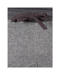 Armani - Gray Men's Marled Pyjama Bottoms, Grey Men's Sportswear In Grey for Men - Lyst
