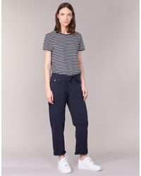 G-Star RAW | Arc Btn Os 3d Low Boyfriend Women's Trousers In Blue | Lyst