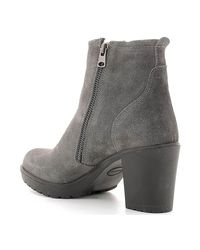 Lumberjack - Gray Sw04501 005 A01 Ankle Boots Women Women's Mid Boots In Grey - Lyst