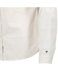 Tommy Hilfiger - Delia Women's Shirt In White - Lyst
