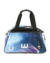 Vaho - Blue Check Duffle Bags Accessories Multicolor Men's Travel Bag In Multicolour for Men - Lyst