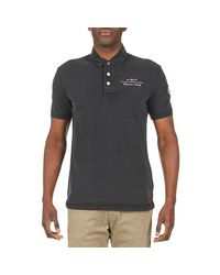 Napapijri - Elbas Men's Polo Shirt In Black for Men - Lyst