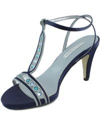 Angel Alarcon | Ang Alarcon Oporto Women's Sandals In Blue | Lyst