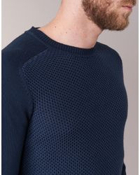 Chevignon - Pull U-bump Men's Sweater In Blue for Men - Lyst
