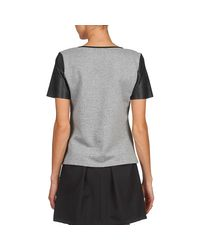 Moony Mood - Gray Curile Women's T Shirt In Grey - Lyst