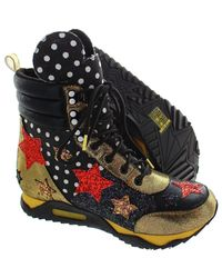 Irregular Choice - Disney Gosh! Women's Shoes (high-top Trainers) In Black - Lyst